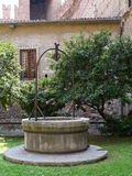 Das Kloster der Basilika Sans Zeno in Verona Stockfoto