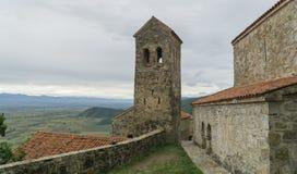 Das Kloster des Dormition des Theotokos in Nekresi Kakheti, Georgia stockfotografie