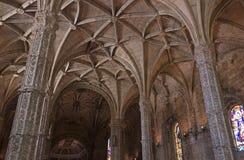 Das Kloster Jeronimos von Lissabon in Portugal Lizenzfreies Stockbild