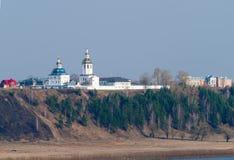 Das Kloster Mannes Cvyato-Znamensky Abalaksky Stockfoto