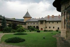Das Kloster Moldovita Stockbild