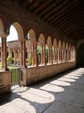 Das Kloster Sans Zeno in Verona in Italien Lizenzfreies Stockbild