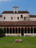Das Kloster Sans Zeno in Verona in Italien Lizenzfreies Stockfoto