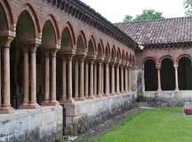 Das Kloster Sans Zeno in Verona in Italien Stockbilder