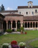 Das Kloster Sans Zeno in Verona in Italien Stockfoto