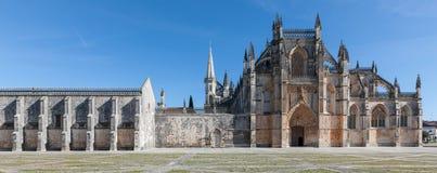 Das Kloster von Batalha Stockbild