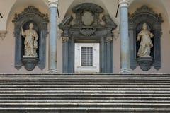 das Kloster von Bramante, Benediktinerabtei von Montecassino Italien Stockfotografie