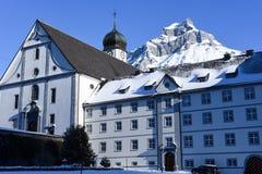 Das Kloster von Engelberg Lizenzfreie Stockbilder