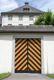 Das Kloster von Engelberg auf den Schweizer Alpen Stockfotografie