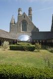 Das Kloster von Mont Saint Michel Abbey, Frankreich Lizenzfreies Stockbild