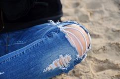 Das Knie Lizenzfreies Stockbild
