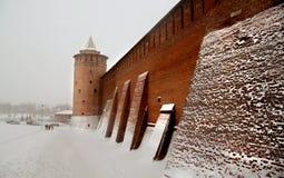 Kolomna der Kreml Stockbild