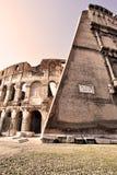 Das Kolosseum Stockfoto