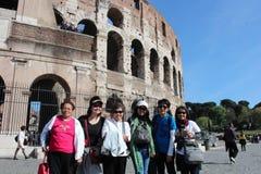 Das Kolosseum in Rom, Italien Stockbilder