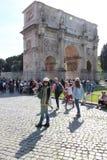 Das Kolosseum in Rom, Italien Stockfotografie