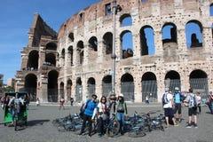 Das Kolosseum in Rom, Italien Stockbild