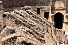 Das Kolosseum von Rom Italien lizenzfreie stockbilder