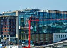 Das Konservatorium von Amsterdam stockbilder