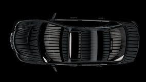 Das Kontrastbild des Autos Stockbild