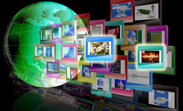 Das Konzept das Internet Lizenzfreie Stockfotos