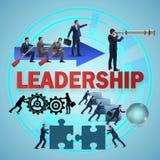 Das Konzept der Führung mit vielen Geschäftslagen lizenzfreie abbildung