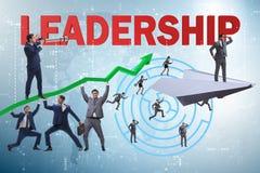 Das Konzept der Führung mit vielen Geschäftslagen stock abbildung