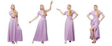 Das Konzept der jungen Frau in Mode Lizenzfreie Stockfotos