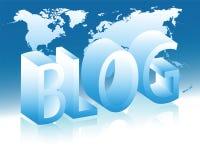 Das Konzept der Onlinekommunikation Lizenzfreie Stockfotografie