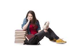 Das Konzept der teuren Bildung mit Studentin Stockfoto