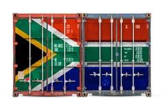 Das Konzept des Exportimportes und nationale Lieferung von Waren stockfotos
