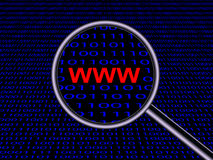 Das Konzept des Internets Lizenzfreie Stockfotos