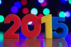 Das Konzept des neuen Jahres Stockbild
