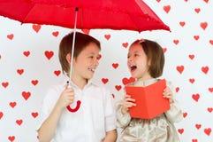 Das Konzept des Valentinsgrußes lizenzfreie stockbilder