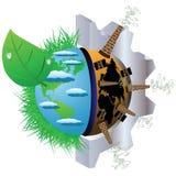 Das Konzept von Ökologie Stockbilder