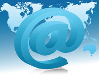 Das Konzept von eMail Lizenzfreies Stockfoto