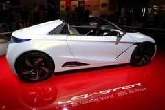 Das Konzeptauto Hondas EV-Ster Lizenzfreie Stockbilder