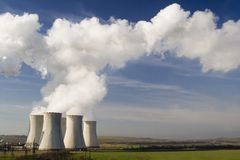 Das Kraftwerk Pocerady lizenzfreies stockfoto
