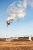Das Kraftwerk Prunerov lizenzfreies stockfoto