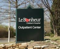 Das Krankenhaus LeBonheur-Kinder Lizenzfreie Stockbilder