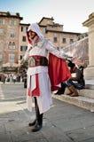 Das Kredo der Meuchelmörder an Lucca-Comics und an Spielen 2014 stockfoto
