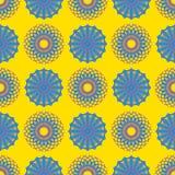 Das Kreismuster wird benutzt, um Teller, Kleidung und andere Zwecke zu entwerfen vektor abbildung