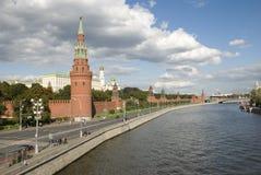 Das kremlin-Kai Lizenzfreies Stockfoto