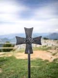 Das Kreuz von 2006 Stockbild