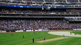 Das 2015 Kricket-Gesamt-Stern-Match in New York Lizenzfreie Stockfotos
