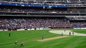 Das 2015 Kricket-Gesamt-Stern-Match in New York Lizenzfreie Stockfotografie