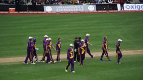 Das 2015 Kricket-Gesamt-Stern-Match in New York Stockfotos
