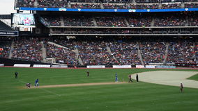 Das 2015 Kricket-Gesamt-Stern-Match in New York Stockbilder