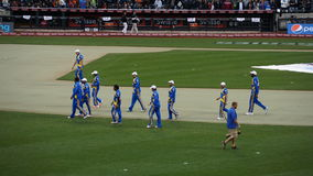 Das 2015 Kricket-Gesamt-Stern-Match in New York Stockfoto