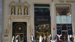 Das Kronen-Gebäude, Fifth Avenue, New York, NY Stockfotos