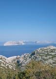 Kvarner, adriatisches Meer, Kroatien Lizenzfreie Stockfotos